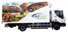 Bidfood vehicle