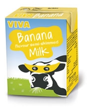 Viva Banana Flavoured Milk Pritchitts