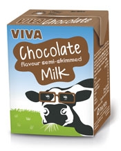 Viva Chocolate Flavoured Milk Pritchitts