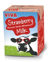 Viva Strawberry Flavoured Milk Pritchitts